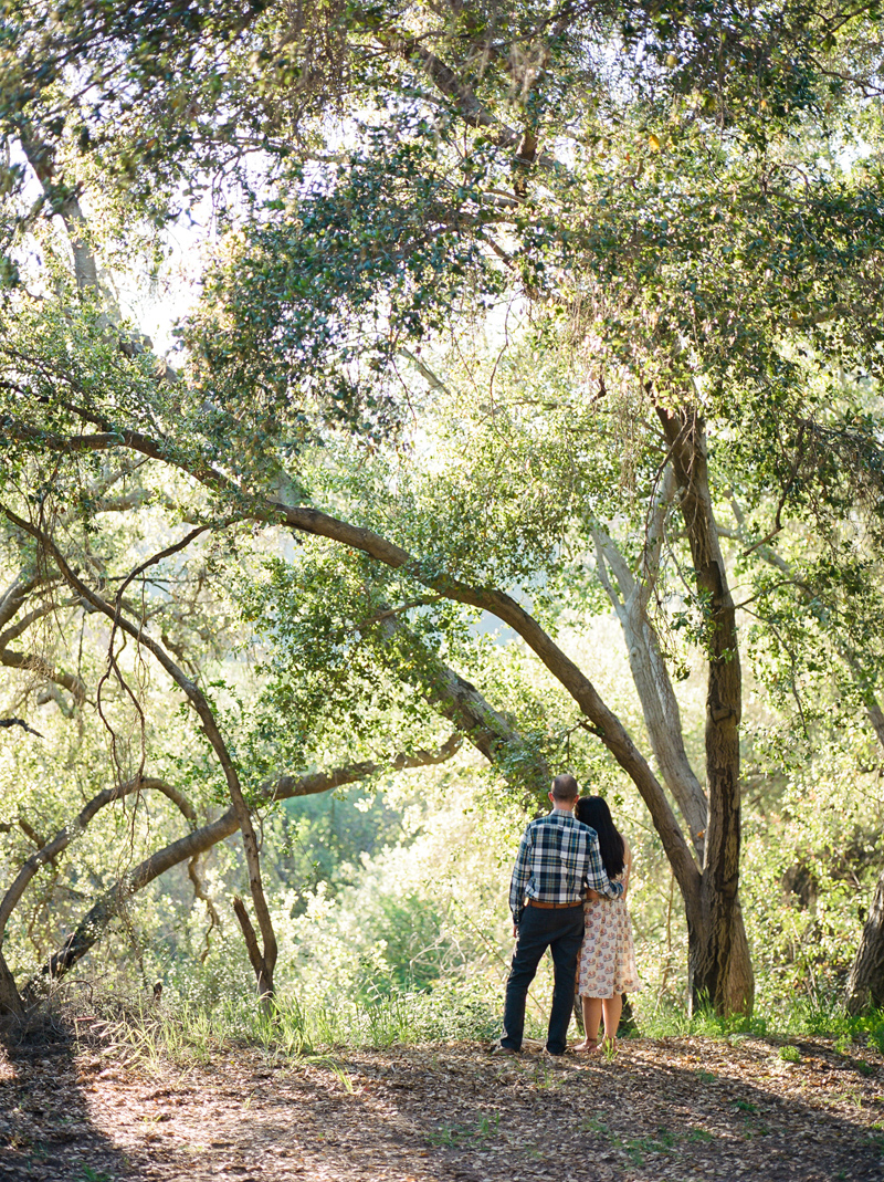 Los Angeles film photographer. La Casita Del Arroyo Park - perfect outdoor location for natural elopements and engagement photos