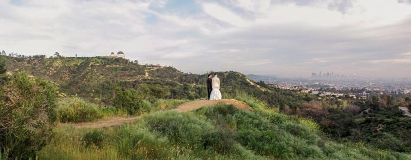 Griffith Park elopement photographer