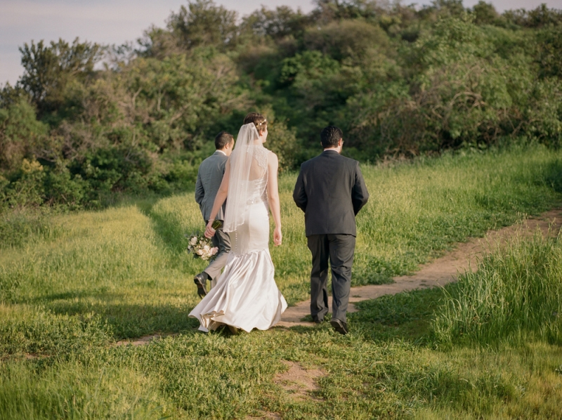 Hiking elopement in Griffith Park Los Angeles film photographer Jessica Schilling