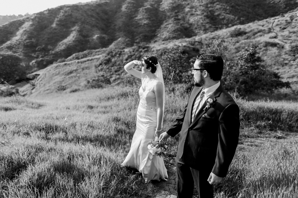 Griffith Park elopement in Los Angeles. Get married in nature.