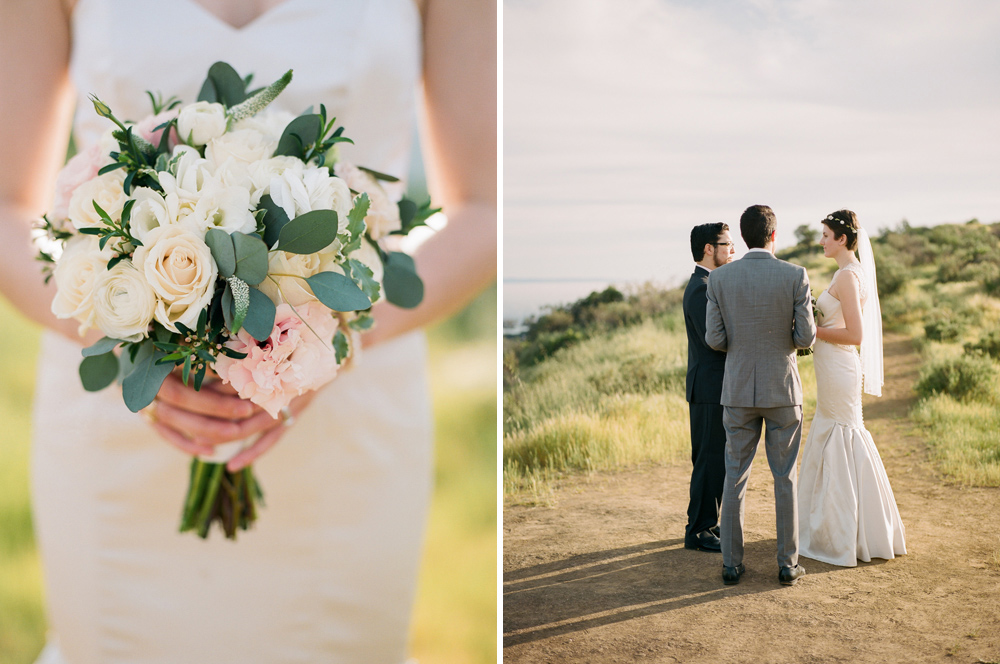 Los Angeles film photographer Jessica Schilling captures intimate elopement at Griffith Park