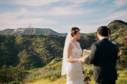 Griffith Park elopement photography on film