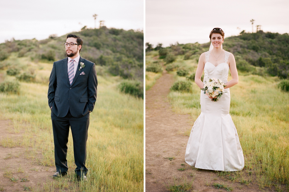 Los Angeles elopement photographer - beautiful outdoor weddings on film