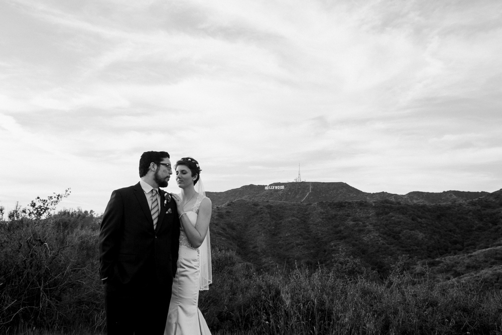 Los Angeles outdoor elopement location Griffith Park. Get married in nature.