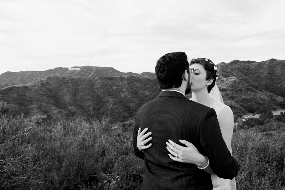 Griffith Park intimate wedding photography by Jessica Schilling