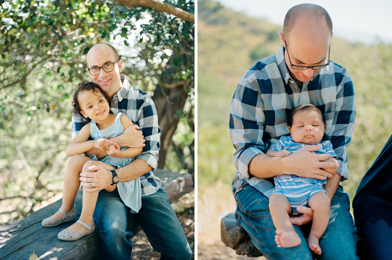 Natural outdoor family photography in Los Angeles
