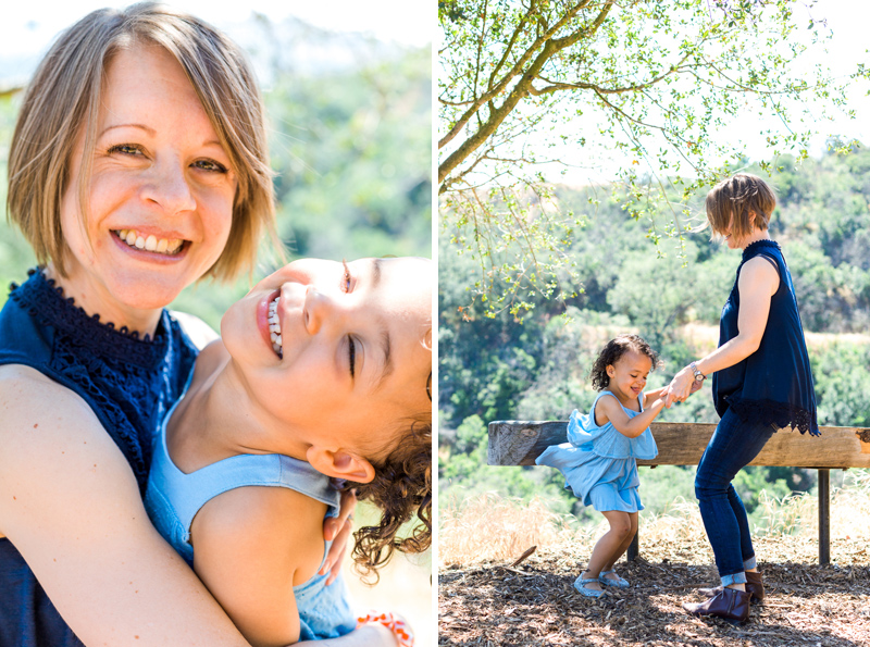 Candid lifestyle family photography