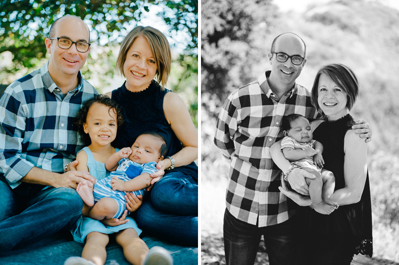 Los Angeles outdoor family photos