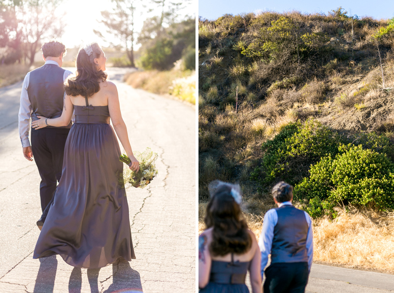 Los Angeles elopement photography at Griffith Park