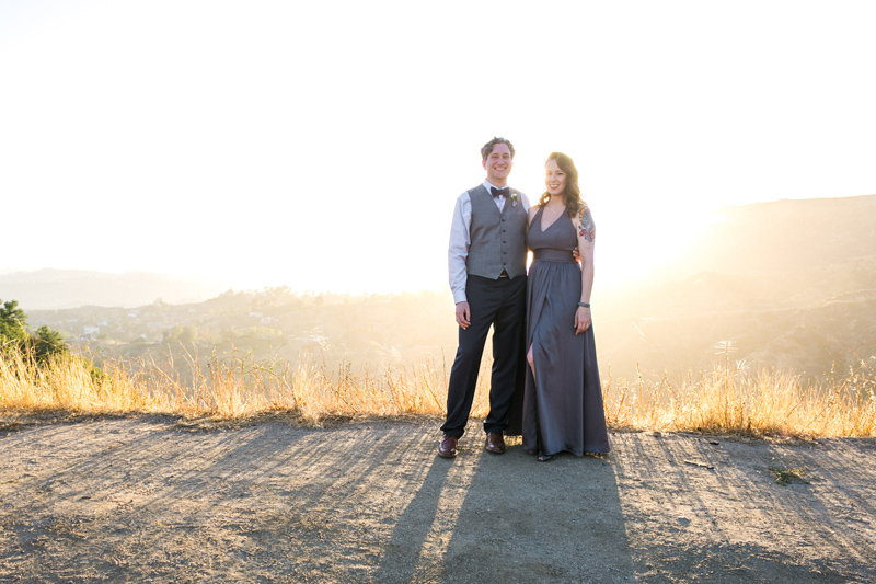 Epic golden hour elopement photography in Los Angeles