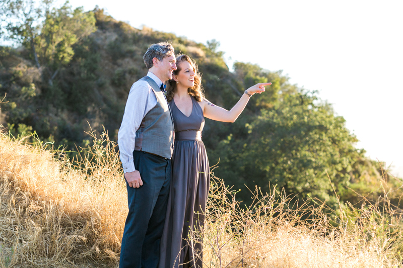 Griffith Park elopement photographer
