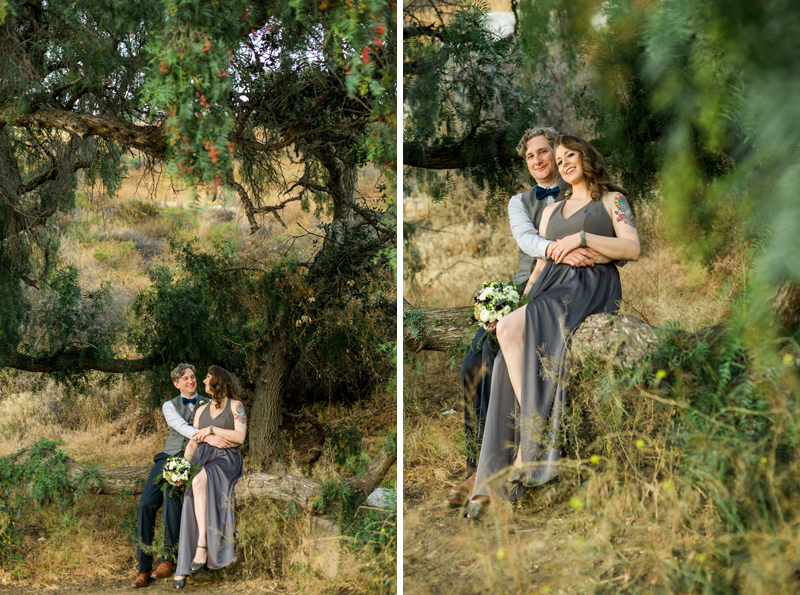 Nature settings for California elopements