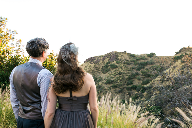 Griffith Park elopement