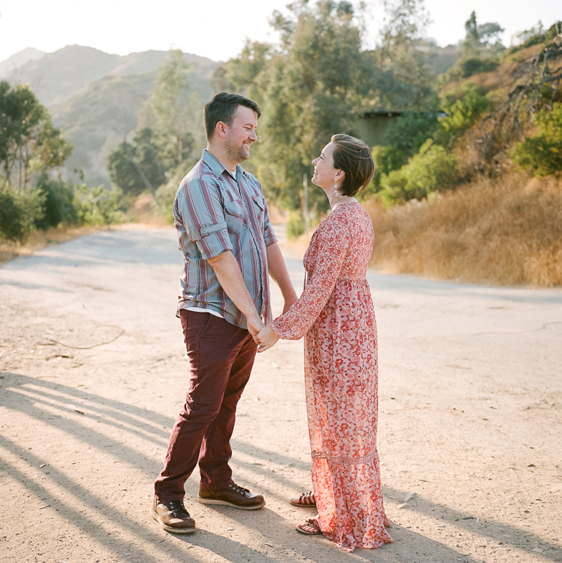 Los Angeles film photographer for engagements and elopements