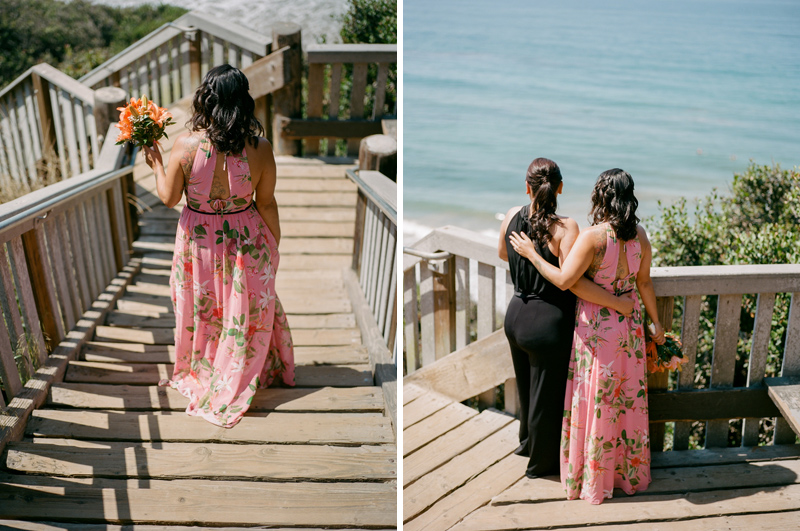 romantic California destination elopements by film photographer Jessica Schilling