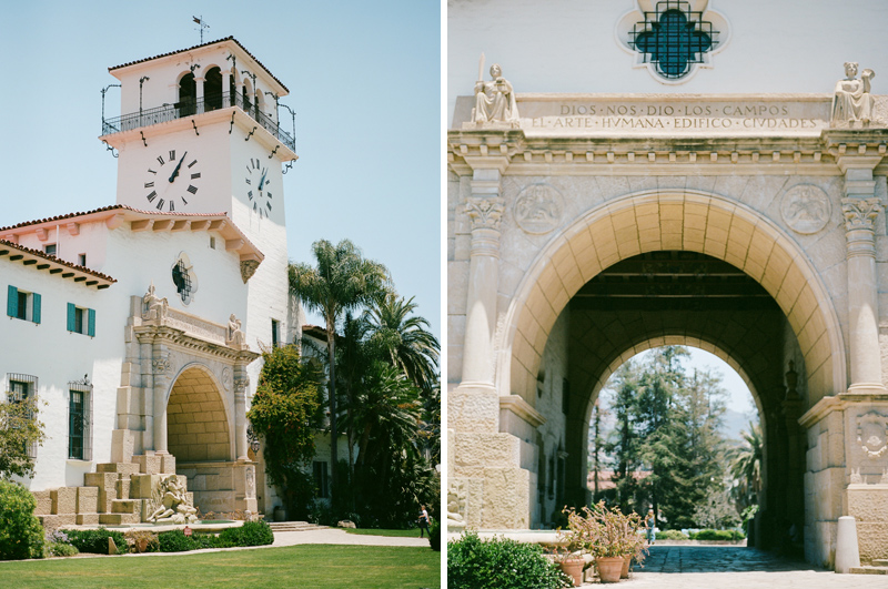Santa Barbara elopement on film
