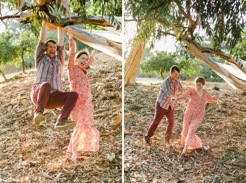 fun, natural, romantic, cool, hipster engagement photos