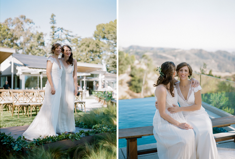 LGBTQ wedding photography. LA film photographer Jessica Schilling