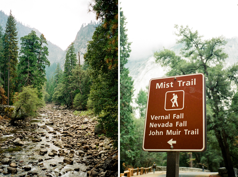 Yosemite travel and destination photography on 35mm film
