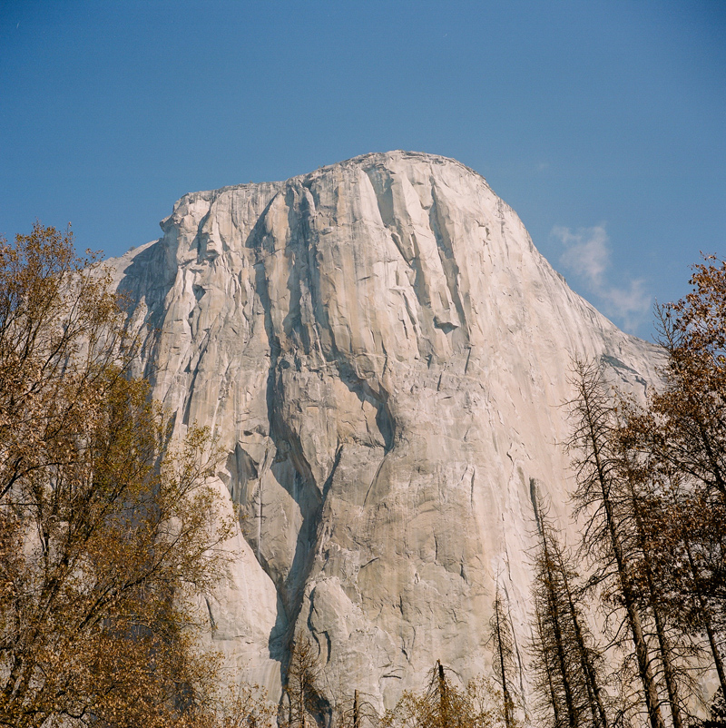 El Capitan at Yosemite National Park. California outdoor wedding Film Photographer Jessica Schilling