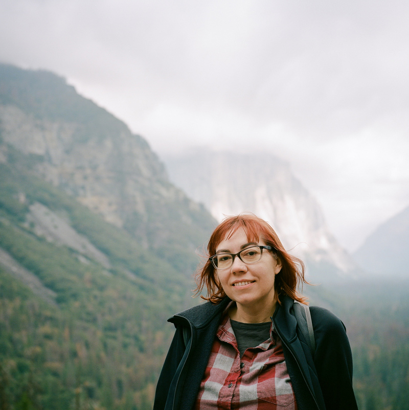 Yosemite travel and destination photography on film
