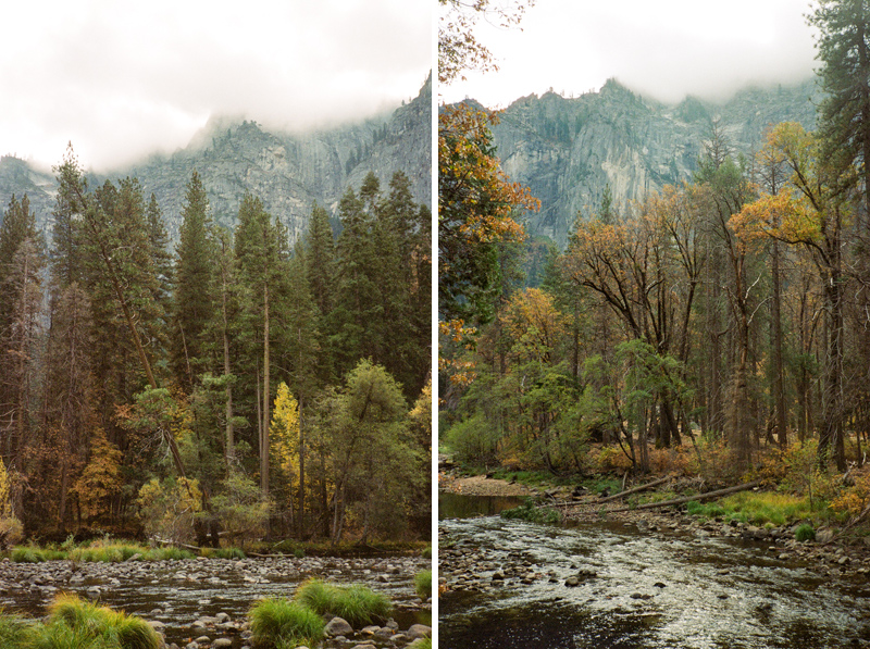 Fall in Yosemite on 35mm film by California outdoor destination photographer Jessica Schilling