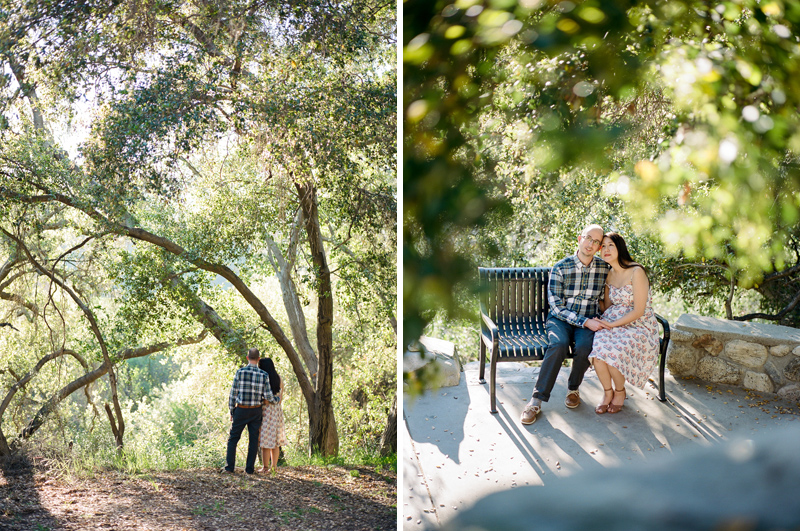 Pasadena engagement photographer for outdoor nature settings.