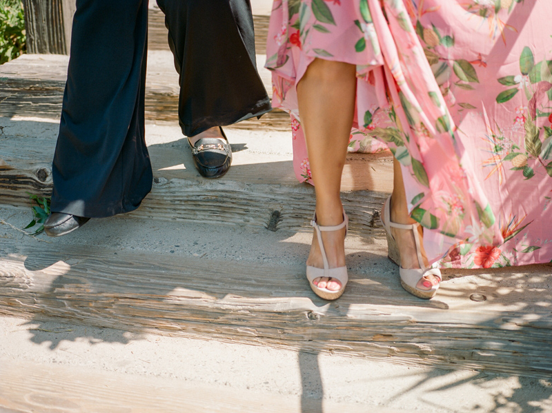 Santa Barbara beach elopement for lesbian wedding