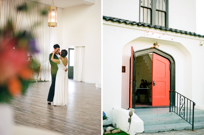 Los Angeles elopement and intimate wedding photographer.