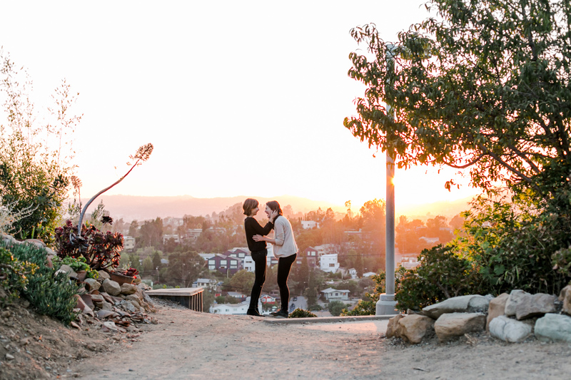 Romantic outdoor engagement photos for adventurous couples. Los Angeles, Califorina and worldwide destination photographer