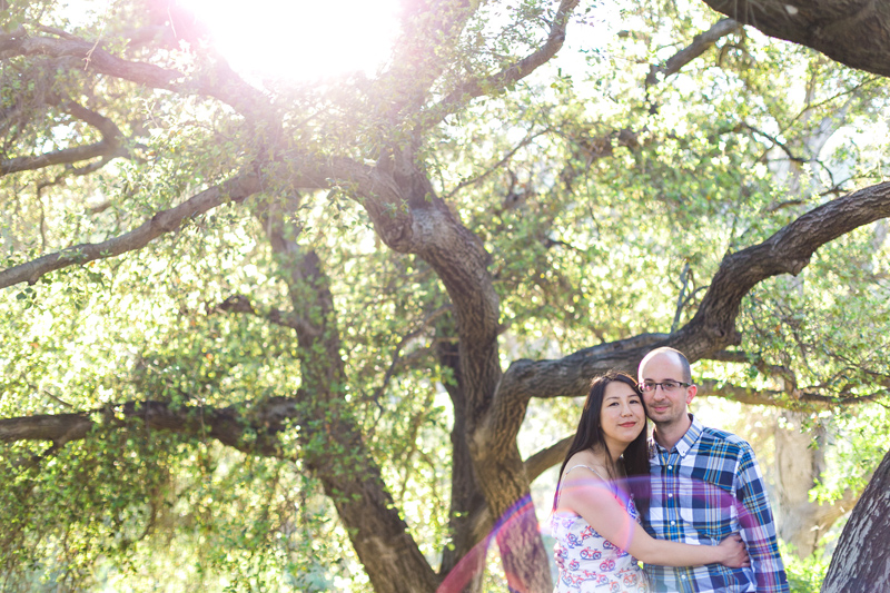 California outdoor engagement and anniversary photos