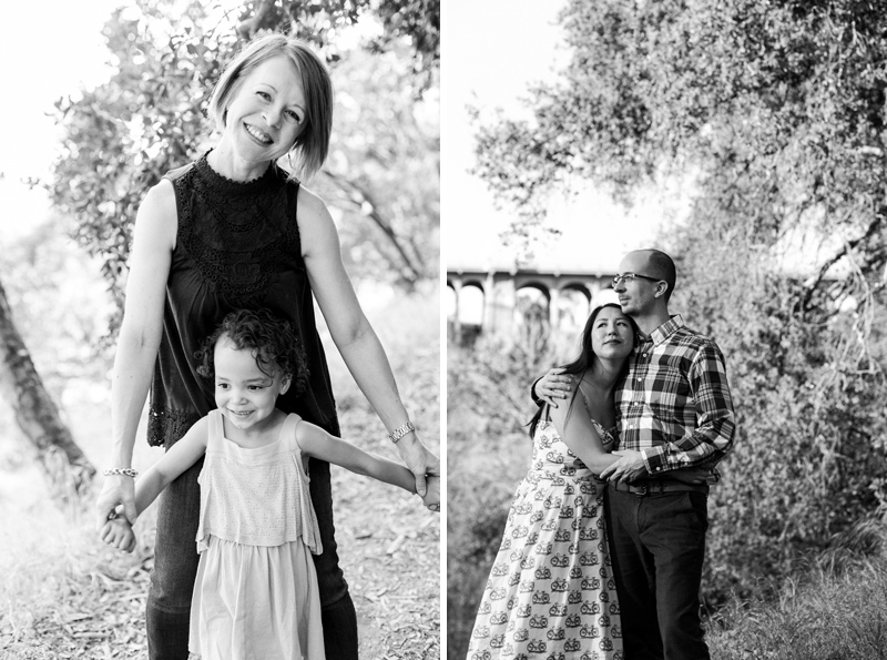 Los Angeles modern portrait photography for families and engagement photos