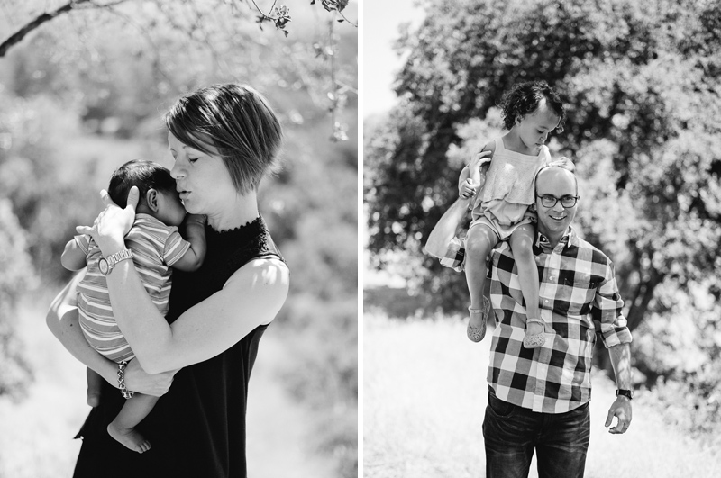 Los Angeles family photographer for outdoor, natural, documentary style photos.
