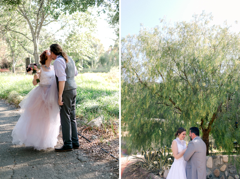 California outdoor destination elopements in nature