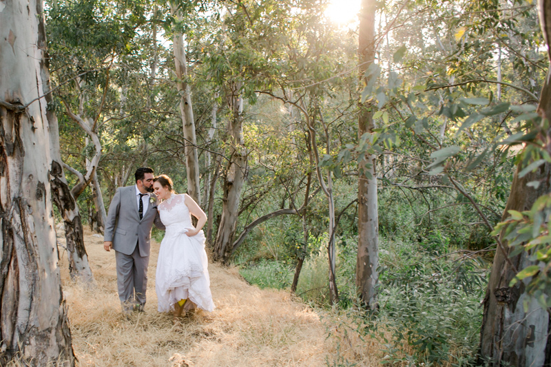 Sunshine-filled romantic photos for outdoor California weddings and elopements