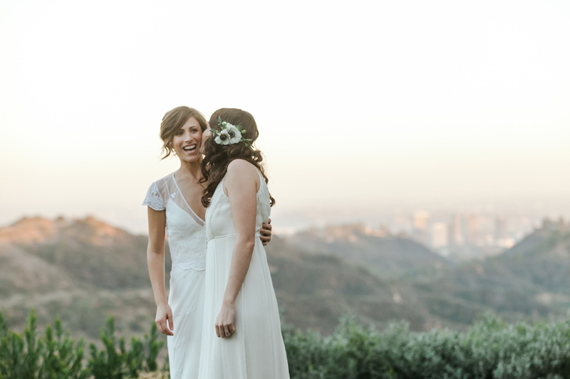 Romantic outdoor elopement photos for adventurous couples and LGBTQ weddings. Los Angeles, Califorina and worldwide destination photographer