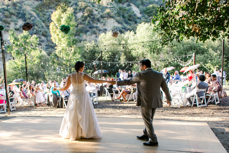 California outdoor wedding photography. Get married in nature.