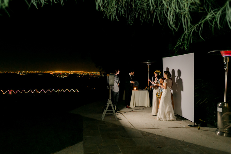 Romantic outdoor night time wedding photos for nature-loving couples by California photographer Jessica Schilling