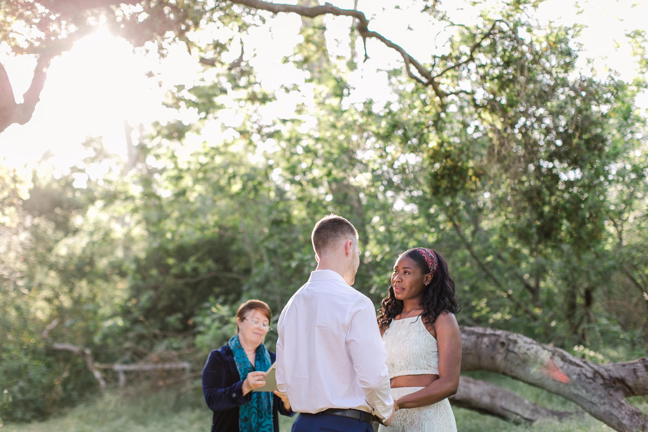 Outdoor elopement photography for adventurous couples