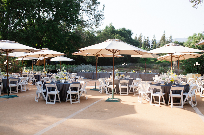 Rancho Santa Ana Botanic Garden Wedding Reception